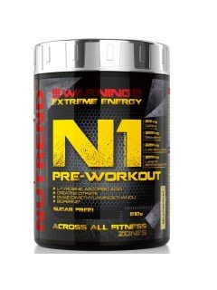 N1 PRE WORKOUT NUTREND NUTREND Congestion & Volume Power Nutrition