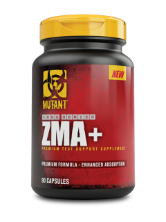 ZMA+ MUTANT NUTRITION MUTANT Vitamines et minéraux Power Nutrition