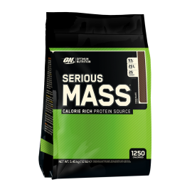 SERIOUS MASS OPTIMUM NUTRITION 5,45KG OPTIMUM NUTRITION Gainers Power Nutrition