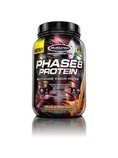 PHASE 8 MUSCLETECH 908G MUSCLETECH Caséine & Multi Protéines Power Nutrition