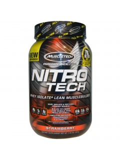 NITROTECH PERFORMANCE SERIES MUSCLETECH 908G MUSCLETECH Whey Protéine Isolate Power Nutrition