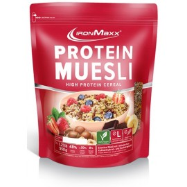 PROTEIN MUESLI IRON MAXX® 500G IRON MAXX Petit déjeuner et collations Power Nutrition