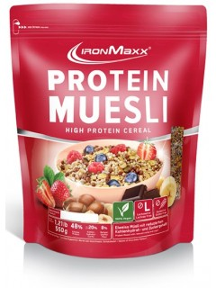 PROTEIN MUESLI IRON MAXX® 500G IRON MAXX Petit déjeuner et collations Power Nutrition