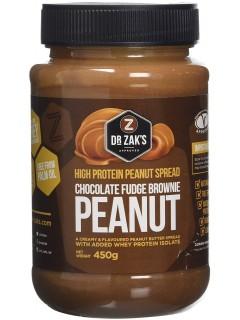 Beurre de cacahuète protéiné Dr Zak Brownie