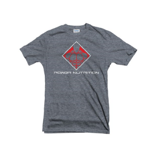 TEE SHIRT GRIS POWER NUTRITION POWER NUTRITION Hommes Power Nutrition