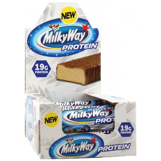 18 X MILKYWAY PROTEIN MARS Barres protéinées Power Nutrition