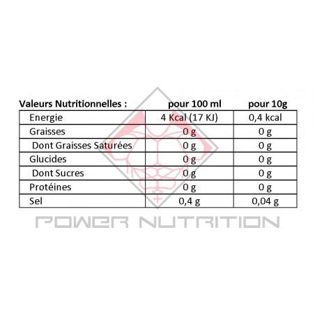 SAUCE ZÉRO CALORIE GOÛT SUCRÉ SERVIVITA SERVIVITA Univers ZÉRO calorie Power Nutrition