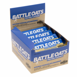 12 BARRES BATTLE OATS  Barres 100% naturelles Power Nutrition