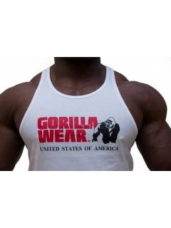 CLASSIC TANK TOP BLANC GORILLA WEAR GORILLA WEAR Hommes Power Nutrition