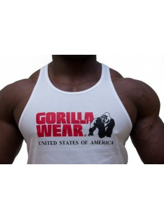 Gorilla Classic Tank Top Blanc
