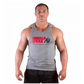 CLASSIC TANK TOP GRIS GORILLA WEAR GORILLA WEAR Hommes Power Nutrition