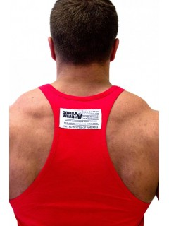 CLASSIC TANK TOP ROUGE GORILLA WEAR Hommes Power Nutrition