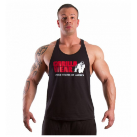 CLASSIC TANK TOP NOIR GORILLA WEAR GORILLA WEAR Hommes Power Nutrition