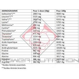 Aminogramme Isobolic Addict Nutrition