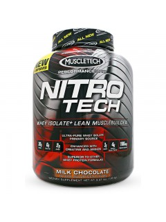 NITROTECH PERFORMANCE SERIES MUSCLETECH 1,8 KG MUSCLETECH Whey Protéine Isolate Power Nutrition