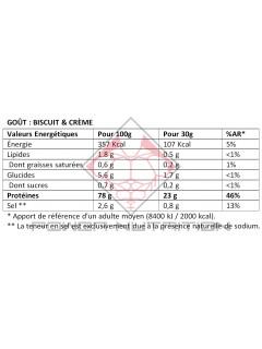 100% PROTEINE BLANC D'OEUF INSTANT OVOWHITE 1KG OVOWHITE Protéines Œuf & Bœuf Power Nutrition
