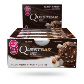 12 X BARRES PROTÉINÉES QUEST BAR QUEST NUTRITION Barres protéinées Power Nutrition