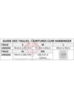 Guide des Tailles Ceinture Cuir Harbinger