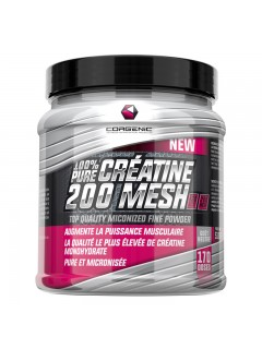 100% PURE CREATINE 200 MESH CORGENIC CORGENIC Creatine Power Nutrition
