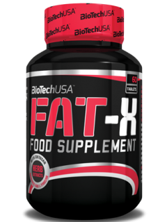FAT X BIOTECH USA BIOTECH USA Brûleurs de graisse Power Nutrition