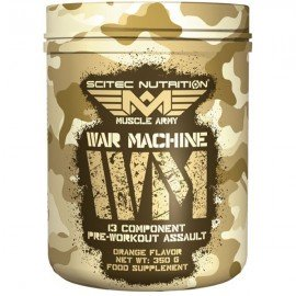 WAR MACHINE MUSCLE ARMY SCITEC NUTRITION SCITEC NUTRITION Congestion & Volume Power Nutrition