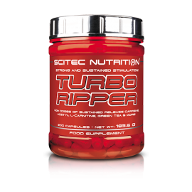 TURBO RIPPER SCITEC NUTRITION SCITEC NUTRITION Brûleurs de graisse Power Nutrition