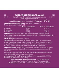 BCAA 6400 SCITEC NUTRITION SCITEC NUTRITION BCAA  Power Nutrition
