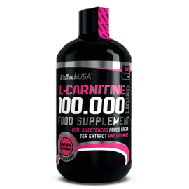 CARNITINE LIQUIDE 100.000 BIOTECH USA BIOTECH USA Carnitine Power Nutrition