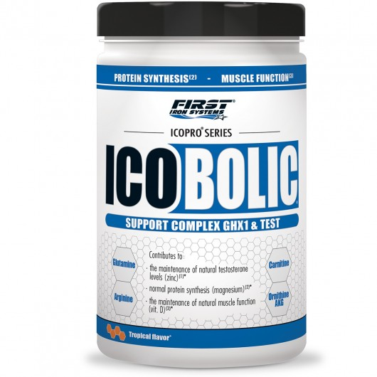 ICOBOLIC FIRST IRON SYSTEMS FIRST IRON SYSTEMS Booster de GH  Power Nutrition