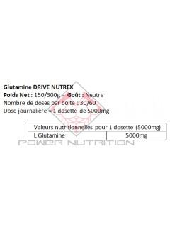 GLUTAMINE DRIVE NUTREX NUTREX Glutamine Power Nutrition