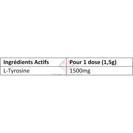 100% L-TYROSINE OSTROVIT OSTROVIT Acides Aminés Power Nutrition