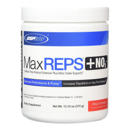 MAX REPS + NO3 USP LABS USP LABS Congestion & Volume Power Nutrition
