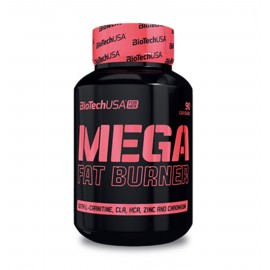 MEGA FAT BURNER BIOTECH USA BIOTECH USA Brûleurs de graisse Power Nutrition