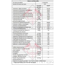 orange triad controlled labs valeurs nutritionelles