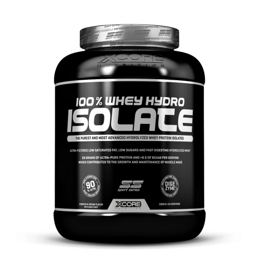 WHEY 100% HYDRO ISOLATE XCORE NUTRITION 2kg XCORE NUTRITION Whey Protéine Isolate Power Nutrition