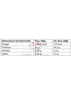 100% BLANC D'OEUF EN POUDRE BBW 1KG BODYBUILDING WAREHOUSE (BBW) Protéines Œuf & Bœuf Power Nutrition