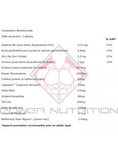 XEDRA CUT ULTRA XT USN NUTRITION USN NUTRITION Brûleurs de graisse Power Nutrition