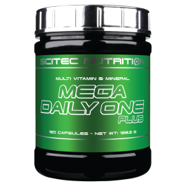 MEGA DAILY ONE PLUS SCITEC NUTRITION SCITEC NUTRITION Vitamines et minéraux Power Nutrition