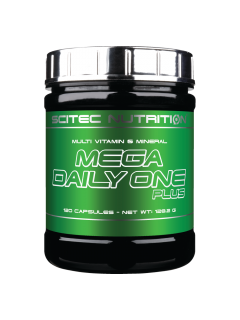 MEGA DAILY ONE PLUS SCITEC NUTRITION SCITEC NUTRITION Vitamines et minéraux Power Nutrition