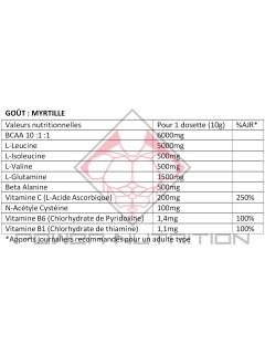 ACID BCAA 10:1:1 TF7 LABS 30 DOSES TF7 LABS BCAA  Power Nutrition