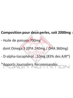 OMEGA 3 GO NUTRITION™ 1000MG