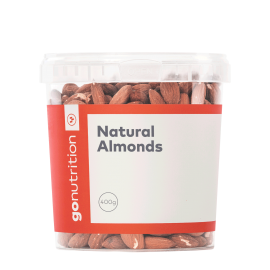 AMANDES GO NUTRITION™ 400g GO NUTRITION Fruits secs & oléagineux Power Nutrition