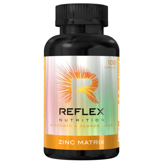 ZINC MATRIX REFLEX NUTRITION REFLEX NUTRITION Vitamines et minéraux Power Nutrition