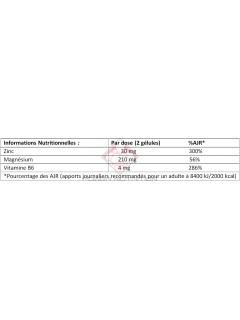 ZMA+B6 SFD NUTRITION SFD NUTRITION Vitamines et minéraux Power Nutrition