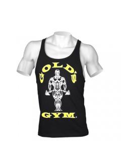 STRINGER MUSCLE JOE PREMIUM GOLD'S GYM NOIR / DORE GOLD'S GEAR Hommes Power Nutrition