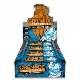 Grenade Barres hyperprotéinées Carb Killa cookies creme
