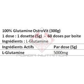 100% GLUTAMINE PURE OSTROVIT OSTROVIT Glutamine Power Nutrition