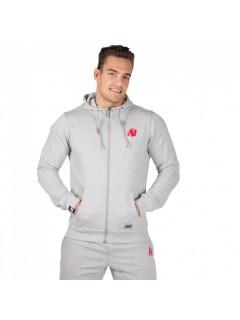 Sweat Zippé Classic Gris Gorilla Wear
