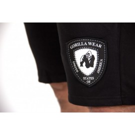 Short Los Angeles Sweat Gorilla Wear Noir