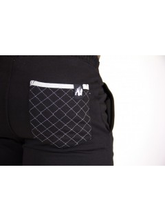 Short sweat Los Angeles Gorilla Wear Noir